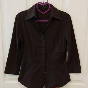 Express brown dress shirt